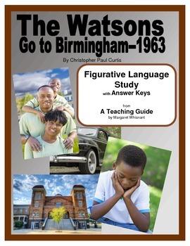 The Watsons Go to Birmingham 1963 Figurative Language Study