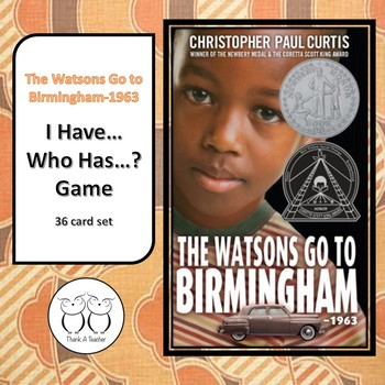 The Watsons Go to Birmingham GAME