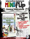 The Watsons Go to Birmingham -1963: Interactive Characterization Mini Flip