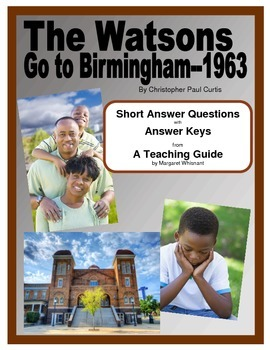 The Watsons Go to Birmingham 1963 Short Answer Questions