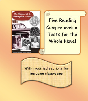 The Watsons Go to Birmingham - 1969 Reading Comprehension Tests