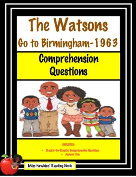 The Watsons Go to Birmingham (COMPREHENSION QUESTIONS)