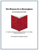 The Watsons Go to Birmingham Literature, Grammar, & Interactive Foldables Unit
