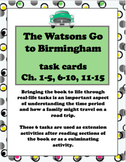 The Watsons Go to Birmingham Task Cards Bundle