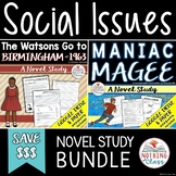 The Watsons Go to Birmingham and Maniac Magee: Social Issues Novel Study Bundle