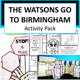 The Watsons go to Birmingham 1963 Activity Pack
