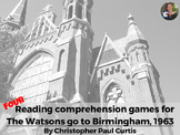 The Watsons go to Birmingham-1963 reading comprehension GA