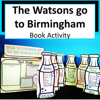 The Watsons go to Birmingham Book in a Bottle Project