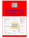 The Watsons Go to Birmingham Complete Literature and Grammar Unit