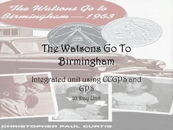 The Watsons go to Birmingham ELA Integrated Unit