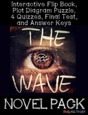 THE WAVE BY TODD STRASSER NOVEL STUDY LITERATURE GUIDE FLIP BOOK, QUIZZES, TEST