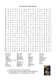 The Wave by Todd Strasser - Vocabulary Word Search