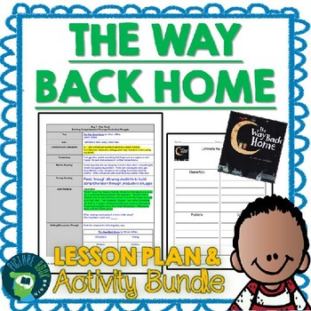 The Way Back Home by Oliver Jeffers 4-5 Day Lesson Plan and Activities
