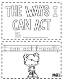 The Way I Can Act - Emergent Reader Book