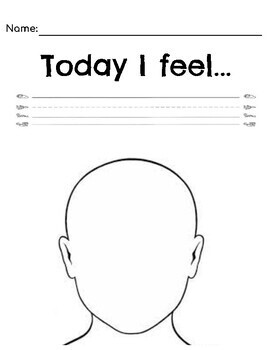 The Way I Feel Worksheet