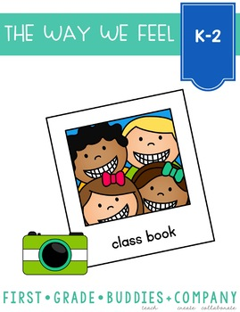 Class Book | Feelings and Emotions | Back to School Activities | Characters