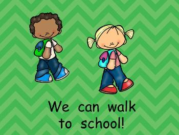 The Way We Go to School- Shared Reading- Kindergarten