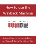 The Wayback Machine Research Assignment .pdf Internet Reso