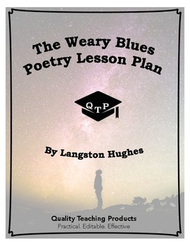 The Weary Blues by Langston Hughes Lesson Plan, Worksheets, Key