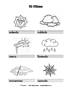 The Weather - El Clima