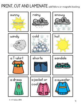 The Weather Is...Seasonal Dress-Up Dolls