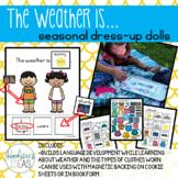 The Weather Is...Seasonal Dress-Up Dolls