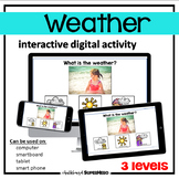 The Weather System interactive digital activity (distance