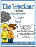 The Weather Themed Emergent Reader - Predictable and Infor