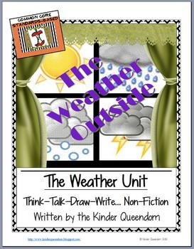 The Weather Unit  Think--Talk--Draw--Write Non-Fiction