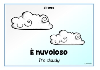The Weather in Italian