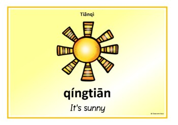 The Weather in Mandarin Chinese