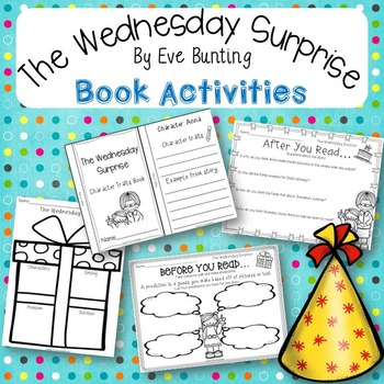 The Wednesday Surprise By Eve Bunting Book Activities