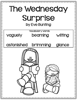 The Wednesday Surprise Vocabulary Lessons with Assessments