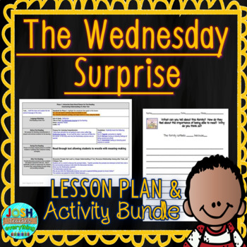 The Wednesday Surprise by Eve Bunting 4-5 Day Lesson Plan and Activities