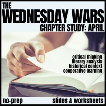 The Wednesday Wars-April Novel Study