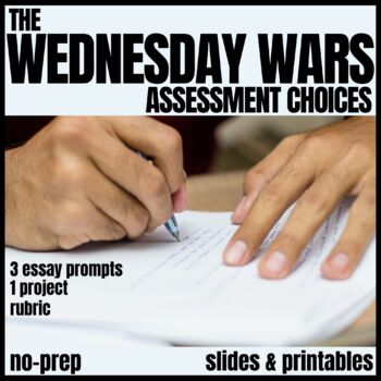 The Wednesday Wars Assessment Activities and Rubric