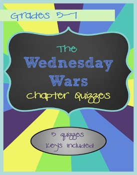 The Wednesday Wars - Chapter Quizzes
