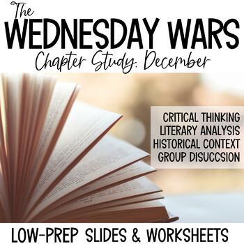 The Wednesday Wars-December Novel Study