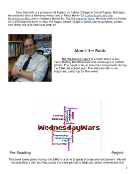 The Wednesday Wars (Gary D. Schmidt) Novel Guide
