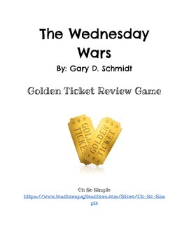 The Wednesday Wars Golden Ticket Review
