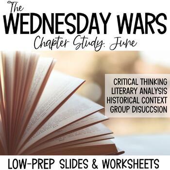 The Wednesday Wars-June Novel Study