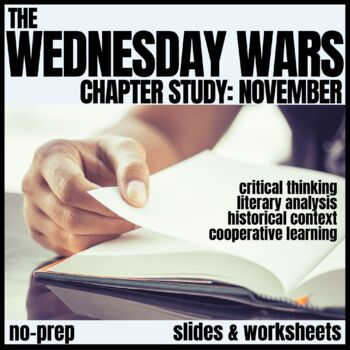 The Wednesday Wars-November Novel Study