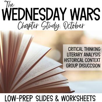 The Wednesday Wars-October Novel Study