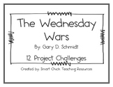 The Wednesday Wars, by G. Schmidt, 12 Project Challenges