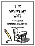 """""""The Wednesday Wars"""", by G. Schmidt, Comprehension Questions"""