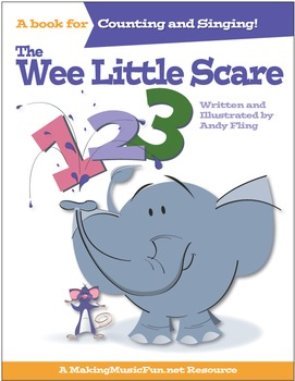 The Wee Little Scare | Sing-Along Counting Book (Digital Print)