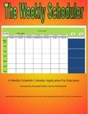 The Weekly Scheduler
