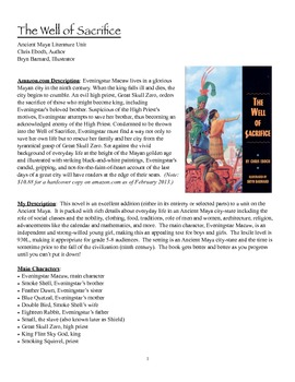 The Well of Sacrifice Teacher's Guide- Ancient Maya novel