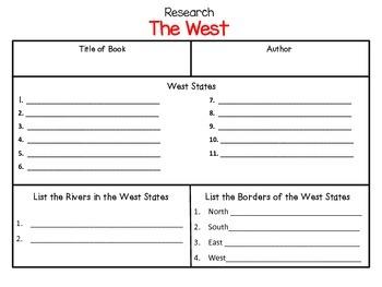 The West - A True Book