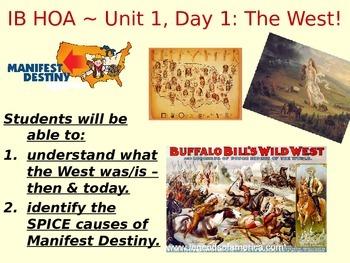 The West - Manifest Destiny, Westward Movement, etc.
